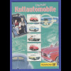 """Deutschland 2002 Faltblatt """"Deutsche Kultautomobile"""" mit Mi.-Nr. 2289-2293"""