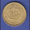 Deutsches Reich 10 Reichspfennig 1936 E in vorzüglicher Erhaltung '