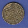 Deutsches Reich 10 Reichspfennig 1925 A mit markantem Produktionsfehler !
