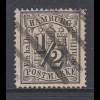 Altdeutschland Hamburg 1/2 Schilling Mi.-Nr. 10 gestempelt