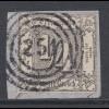 Altdeutschland Thurn und Taxis Mi.-Nr. 35 gestempelt auf Briefstück mit O 251