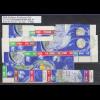 DDR Sowj. Weltraumflüge 1962 Mi.-Nr. 926-933, 16 ZSD kpl. Garnitur echt O