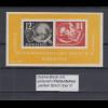 DDR 1950 DEBRIA-Block mit seltenem PLF Strich über 9, Mi.-Nr. Block 7 I **