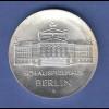 DDR 10 Mark Gedenkmünze 1987 Schauspielhaus Berlin stempelglanz stg