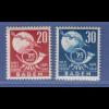 Französische Zone, Baden UPU Mi.-Nr. 56-57 Serie kpl. postfrisch **