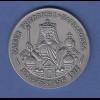 Kaiser Friedrich der I. Barbarossa, edle Silbermedaille mattiert, Prägejahr 1977