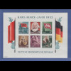 DDR 1953 Karl Marx-Block Mi.-Nr. Block 9B **