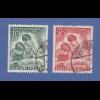 Berlin 1951 Tag der Briefmarke kpl. Satz Mi.-Nr. 80-81 gest. beide gepr. BPP