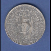 Bundesrepublik Kursmünze 5 Mark Silber-Adler 1951 G