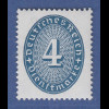 Deutsches Reich Dienstmarke 4 Pfg. graublau Mi.-Nr. 130 **