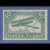 Deutsches Reich 1919 Flugpostmarke 40 Pfg in seltener b-Farbe Mi.-Nr. 112b *