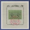 """Schweiz 1943 100 Jahre Briefmarken Genf, """"Doppelgenf"""" Mi.-Nr. Block 10 gestemp."""