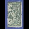 Schweiz 1900 Weltpostverein Mi.-Nr. 71 II ** mit Druckfehler bei Jahreszahl !