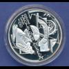 10-€-Gedenkmünze PP, Deutsches Museum, München, Polierte Platte, Spiegelglanz