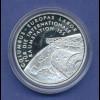 10-€-Gedenkmünze PP, Raumstation ISS, Polierte Platte, Spiegelglanz