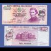 Banknote Uruguay 1000 Pesos (1974) in bankfrischer Erhaltung !