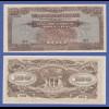 Banknote Malaya japanische Besetzung 1942-44, 100 Dollar in guter Erhaltung !