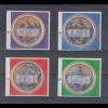 Vatikan ATM 3.Ausgabe 2002, Evangelisten Mi.-Nr.11-14 x je mit Wert 0,01 € **