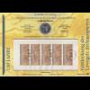 Bundesrepublik Numisblatt 5/2011 Archaeopteryx mit 10-Euro-Gedenkmünze