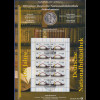 Bundesrepublik Numisblatt 4/2012 Nationalbibliothek mit 10-Euro-Gedenkmünze