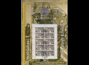 Bundesrepublik Numisblatt 4/2014 Konstanzer Konzil mit 10-Euro-Gedenkmünze