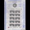 Bundesrepublik Numisblatt 1/1998 Westfälischer Friede mit 10-DM-Silbermünze