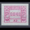 Schweiz 1976, 1. FRAMA-ATM Ausgabe A2 **, Wert 0040