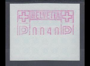 Schweiz 1978 FRAMA-ATM ohne Aut.-Nr. Mi.-Nr. 2 Teildruck **