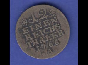 Königreich Preussen 1/12 Taler 1766 A