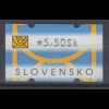Slowakei Nagler-ATM 2. Ausgabe Rastertiefdruck , Mi.-Nr. 2 **