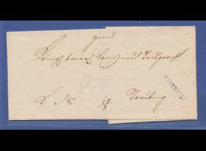 Vorphila-Brief mit Stempel PFARRKIRCHEN. 1830