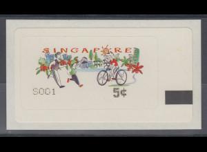 Singapur Metric-SAM-ATM Gesundes Leben , Mi.-Nr. 9.1 **