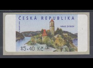 Tschechische Republik ATM 2.Ausgabe Hrad Zvikov