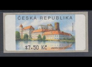 Tschechische Republik ATM 3.Ausgabe Jindrichuv Hradec