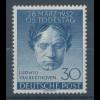 Berlin 1952, Ludwig van Beethoven, Mi.-Nr. 87 **