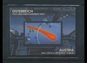 Österreich 2006, Blockausgabe Post aus einer anderen Welt, Mi.-Nr. Block 32 **