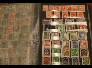 Österreich Sammlung ab 1945 bis 1976 mit vielen besseren Marken