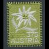 Österreich 2005, Stickerei-Marke Edelweiß. Mi.-Nr. 2538 **