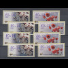 Zypern Amiel-ATM Ausgabe Frühlings-Blumen 2005, Mi.-Nr. 11-12 Aut.Nr. 004-007
