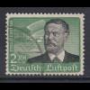 Deutsches Reich Flugpost 1934 , 2 Mark Lilienthal Mi.-Nr. 538 x gestempelt