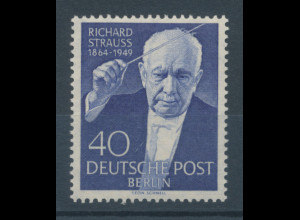 Berlin 1954, Richard Strauss 1864-1949, Mi.-Nr. 124 **