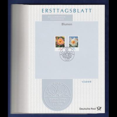 Bundesrepublik Ersttagsblatt ETB-Jahrgang 2006 komplett