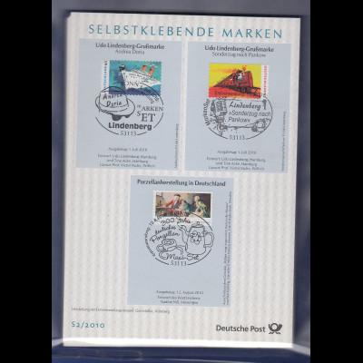 Bundesrepublik Ersttagsblatt ETB-Jahrgang 2010 komplett