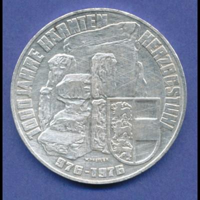 Österreich 100-Schilling Silber-Gedenkmünze 1976, Herzogtum Kärnten