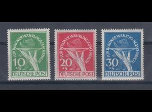 Berlin 1949 Währungsgeschädigte Satz Mi.-Nr. 68-70 komplett postfrisch **