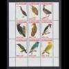 Suriname 2007 Vögel Satz 9 Werte Mi.-Nr. 2129-2137 komplett **