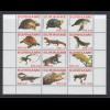 Suriname 2007 Reptilien Satz 12 Werte Mi.-Nr. 2108-2119 komplett **
