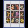 Suriname 2007 Orchideen Satz 12 Werte Mi.-Nr. 2090-2101 komplett **