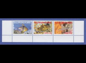 Suriname 2008 Fische Satz 3 Werte Mi.-Nr. 2229-2231 komplett **