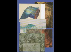 Bundesrepublik Set 5 Sonderpostkarten Albrecht Dürer 1971, ungebraucht